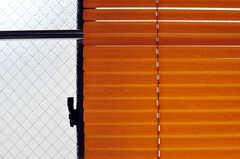 ブラインドの様子。(201号室)(2012-05-28,専有部,ROOM,2F)