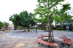 シェアハウス付近にある公園の様子。(2012-05-28,共用部,ENVIRONMENT,1F)