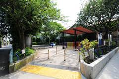 シェアハウス付近にある公園の様子2。(2012-05-28,共用部,ENVIRONMENT,1F)