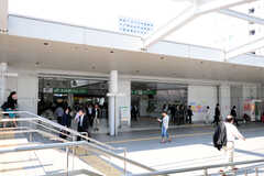 JR各線・大崎駅の様子。(2012-05-28,共用部,ENVIRONMENT,1F)