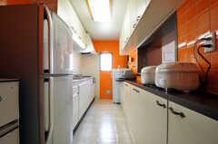 シェアハウスのキッチンの様子。(2011-03-31,共用部,KITCHEN,3F)
