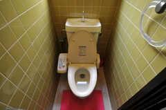 ウォシュレット付きトイレの様子。(2011-03-31,共用部,TOILET,3F)