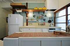 キッチンの様子。(2013-05-21,共用部,KITCHEN,1F)