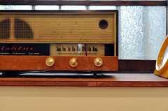 レトロなラジオ。(2010-07-28,共用部,OTHER,1F)