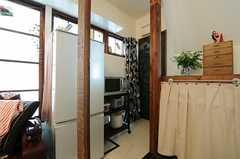 トイレは玄関脇に位置しています。(2013-05-21,共用部,OTHER,1F)