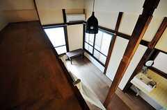 2階の各専有部にはロフトがついています。(203号室)(2010-07-28,専有部,ROOM,2F)