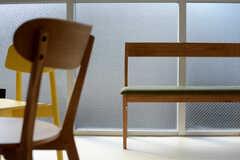 椅子はソファタイプも。(2015-03-13,共用部,OTHER,2F)
