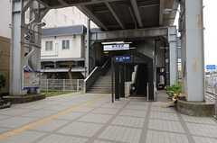 京急本線・新馬場駅の様子。(2016-03-22,共用部,ENVIRONMENT,1F)