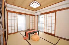 専有部の様子。和室です。(4014号室)(2009-09-04,専有部,ROOM,4F)
