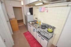 キッチンの様子2。(2009-09-04,共用部,KITCHEN,4F)