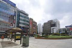 各線・目黒駅前の様子。(2013-07-18,共用部,ENVIRONMENT,1F)