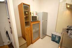 キッチン家電の様子。(2008-11-07,共用部,KITCHEN,1F)