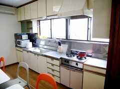 キッチンの様子。(2007-06-03,共用部,KITCHEN,1F)