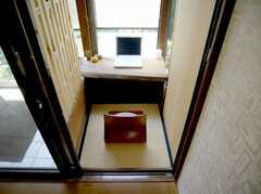 共用PC。渋い場所に置かれてます。(2007-06-03,共用部,PC,1F)