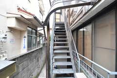 外階段の様子。(2019-10-09,共用部,OTHER,1F)