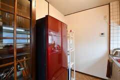 冷蔵庫の様子。(2019-10-09,共用部,KITCHEN,2F)