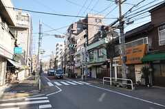 京急・新馬場駅からシェアハウスへ向かう道の様子。(2010-01-15,共用部,ENVIRONMENT,1F)