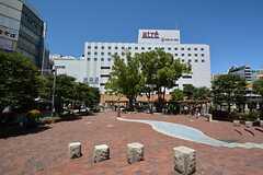JR各線・大森駅前の様子。(2015-07-14,共用部,ENVIRONMENT,1F)