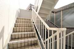 階段の様子。(2013-03-28,共用部,OTHER,6F)