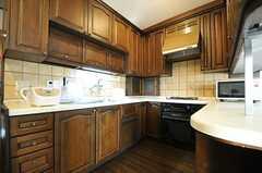 キッチンの様子。(2013-03-28,共用部,KITCHEN,7F)