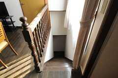 階段の様子。(2013-03-28,共用部,OTHER,7F)
