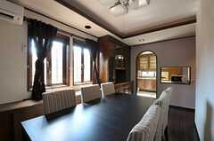 シェアハウスのリビングの様子3。(2011-09-12,共用部,LIVINGROOM,1F)