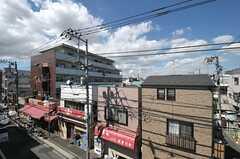 屋上からの眺めはこんな感じ。(2011-09-12,共用部,OTHER,4F)