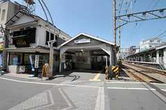 東急池上線・戸越銀座駅の様子。(2011-06-29,共用部,ENVIRONMENT,1F)