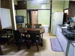 ラウンジの様子。(2005-12-03,共用部,LIVINGROOM,1F)