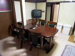 ラウンジの様子2。(2005-12-03,共用部,LIVINGROOM,1F)