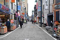 戸越銀座商店街の様子。(2017-02-20,共用部,ENVIRONMENT,1F)