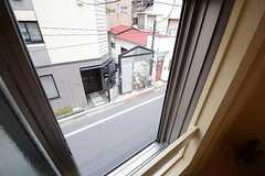 窓から見た外の景色。(202号室)(2014-07-03,専有部,ROOM,2F)