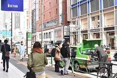 各線・新宿三丁目駅周辺の様子。(2017-03-01,共用部,ENVIRONMENT,1F)