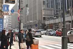 各線・新宿三丁目駅周辺の様子2。(2017-03-01,共用部,ENVIRONMENT,1F)