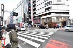 各線・新宿三丁目駅の様子。(2017-03-01,共用部,ENVIRONMENT,1F)