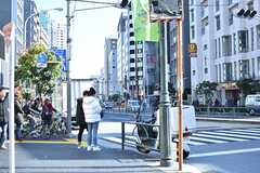 各線・東新宿駅周辺の様子。(2017-02-16,共用部,ENVIRONMENT,1F)