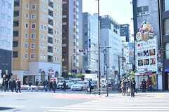 各線・東新宿駅周辺の様子2。(2017-02-16,共用部,ENVIRONMENT,1F)