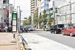 JR山手線・目白駅周辺の様子。(2017-10-03,共用部,ENVIRONMENT,1F)