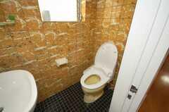トイレの様子。(2008-12-23,共用部,TOILET,6F)