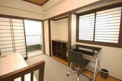 専有部の様子。(601号室)(2008-12-23,専有部,ROOM,6F)