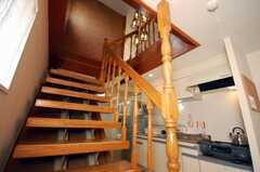 階段の様子。(6階から7階)(2008-12-23,共用部,OTHER,6F)