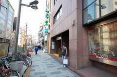 東京メトロ丸ノ内線新宿御苑駅の様子。(2008-12-23,共用部,ENVIRONMENT,1F)