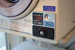 乾燥機はコイン式です。(2015-04-07,共用部,LAUNDRY,3F)