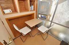 シェアハウスのリビングの様子。(2011-01-17,共用部,LIVINGROOM,1F)