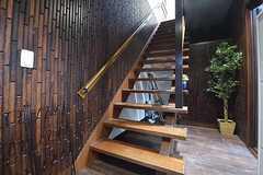階段の様子。(2016-08-19,共用部,OTHER,1F)