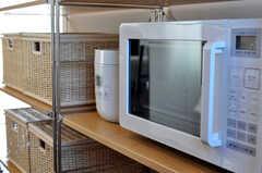 キッチン家電の様子。(2010-12-15,共用部,KITCHEN,4F)