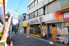 都営大江戸線・牛込柳町駅の様子。(2010-12-15,共用部,ENVIRONMENT,1F)