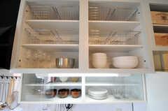 キッチン収納はこんな感じ。(nismu)(2010-10-18,共用部,KITCHEN,4F)