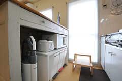 キッチン家電の様子。(nismu)(2010-10-18,共用部,KITCHEN,4F)