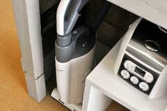 掃除機はこちら。(nismu)(2010-10-18,共用部,KITCHEN,4F)